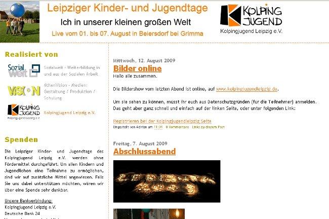 Blog zu den Leipziger Kinder- und Jugendtagen